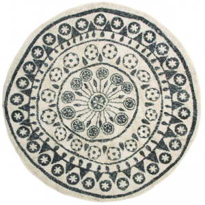 Photo NTA1850 : Round cotton rug