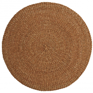 Photo NTA1961 : Round seagrass carpet - small size