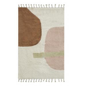 Photo NTA2330 : Cotton carpet with abstract design