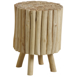 Photo NTB1800 : Wooden stool with legs
