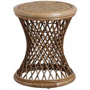 Photo NTB1990 : Stained rattan stools