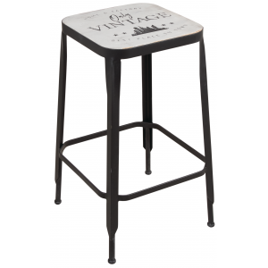 Photo NTB2020 : Wooden and metal stools