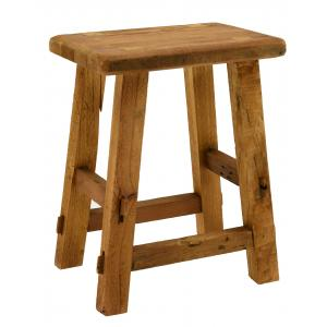 Photo NTB2110 : Recycled wood stool