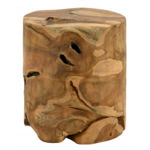 Photo NTB2130 : Recycled teak stool