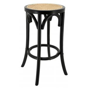 Photo NTB2180 : Black lacquered birch wood