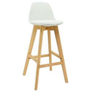 Photo NTB2240 : Polypro stool with beechwood