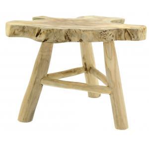 Photo NTB2370 : Table basse 3 pieds en teck recyclé Arthur
