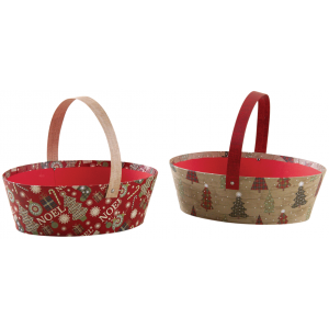 Photo PAM4780 : Cardboard Christmas baskets