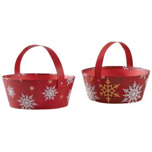 Photo PAM4790 : Cardboard Christmas basket