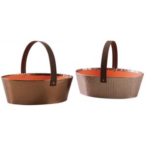 Photo PAM4800 : Oval cardboard baskets