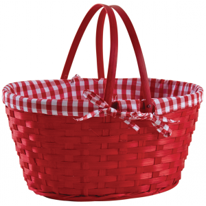 Photo PAM4850C : Stained bamboo basket