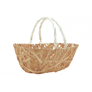 Photo PAM4870 : Wood an lacquered willow basket