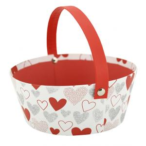Photo PAM4890 : Cardoard basket Heart