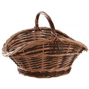 Photo PBU2420 : Unpeeled buff willow log basket