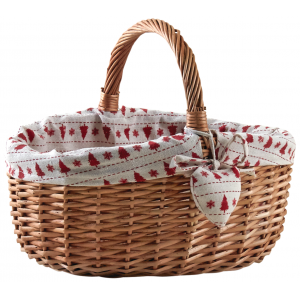 Photo PMA5130C : Stained willow basket