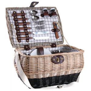 Photo PPI1210C : Willow picnic basket for two
