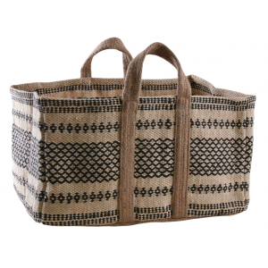 Photo SBU1240 : Sac à bûches en jute