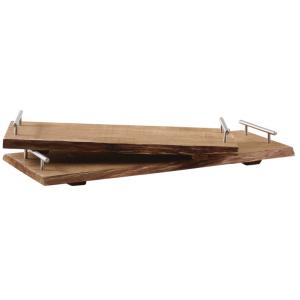 Photo TPL315S : Plateaux en bois avec poignées