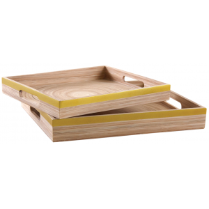 Photo TPL331S : Lacquered bamboo trays