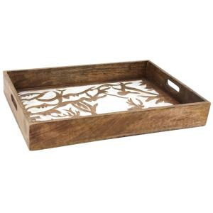 Photo TPL3360 : Mango carved tray Deer