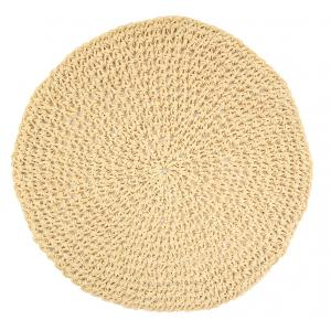 Photo TST195S : Round paper rope placemats