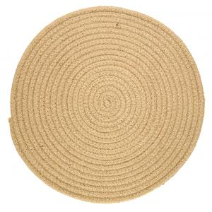Photo TST196S : Round natural jute placemats