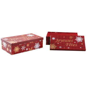 Photo VBT304S : Cardboard Christmas boxes Joyeuses Fêtes