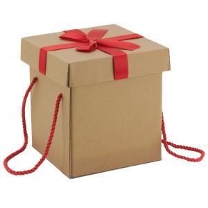 Photo VBT3321 : Cardboard folding box with ribbon