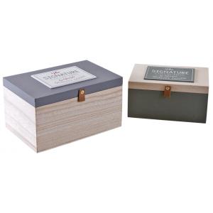 Photo VCP123S : Boîtes en bois