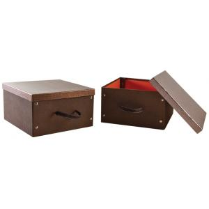 Photo VVA1970 : Rectangular cardboard box bright finish