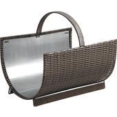 Photo PBU206S : Polyrattan log baskets