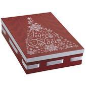 Photo VBT2851 : Boite de Noël rectangulaire en carton