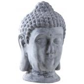 Photo DST1290 : Tête de Bouddha en fibre de ciment