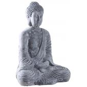 Photo DST1310 : Bouddha assis en fibre de ciment