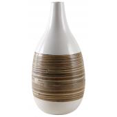 Photo DVA1630 : Vase en bambou laqué
