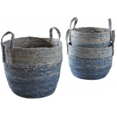 Photo JCP403S : Stained maize pot covers