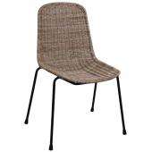Photo MCH1670 : Chaise en rotin slimit