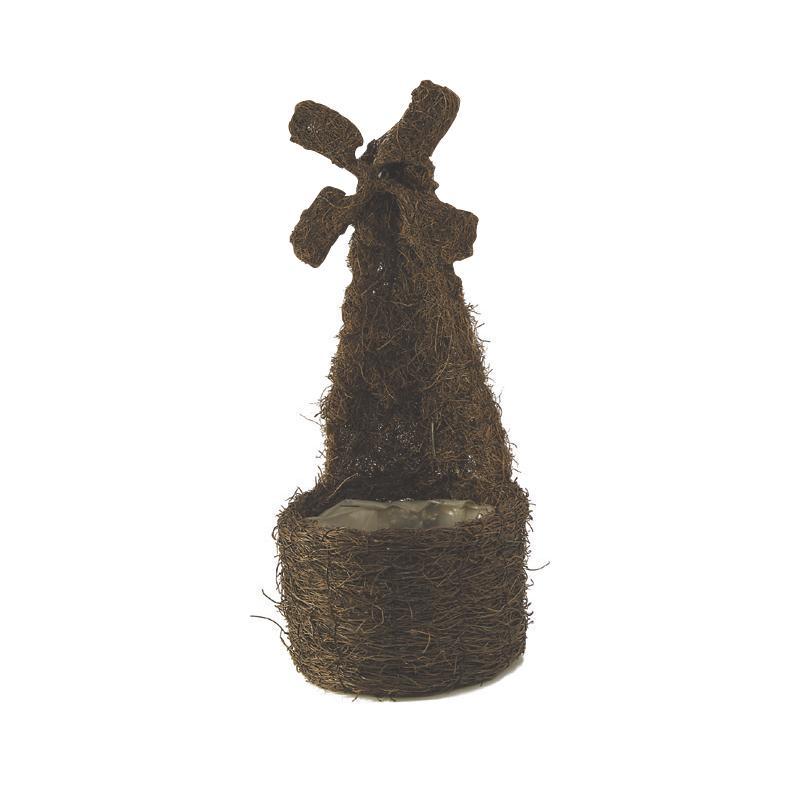 cache pot en rotin sauvage cfl117sp aubry gaspard. Black Bedroom Furniture Sets. Home Design Ideas