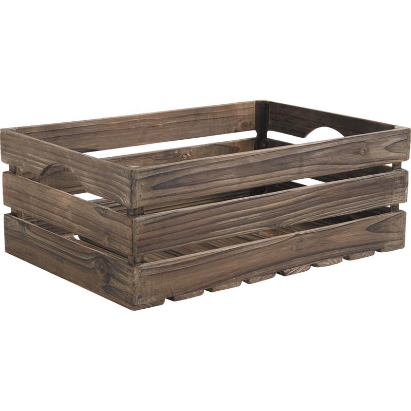 caisses en bois vieilli cra378s aubry gaspard. Black Bedroom Furniture Sets. Home Design Ideas