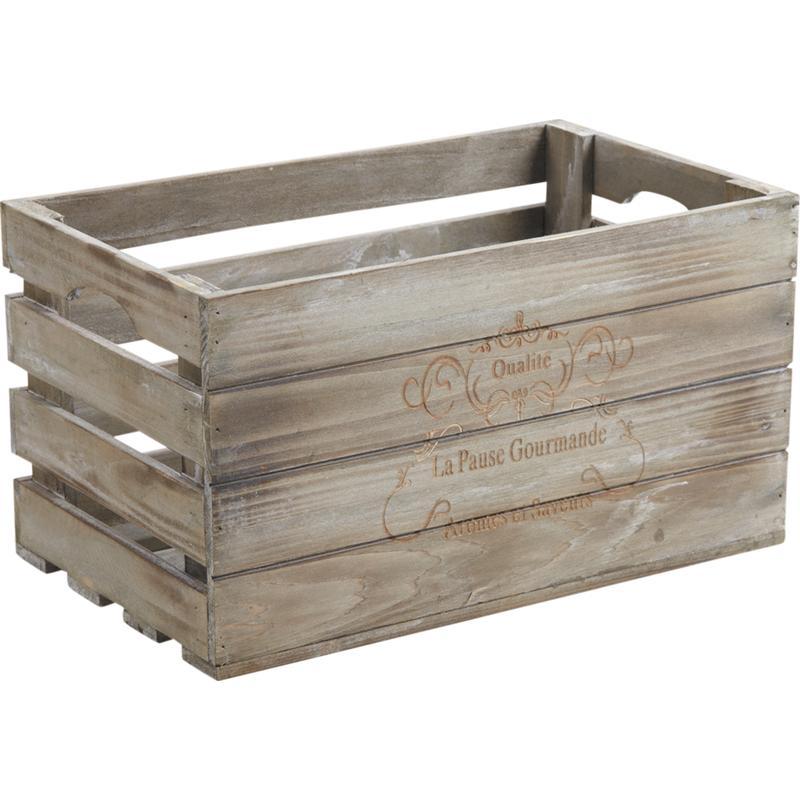 Caisse en bois pas cher for Boite en bois a decorer pas cher