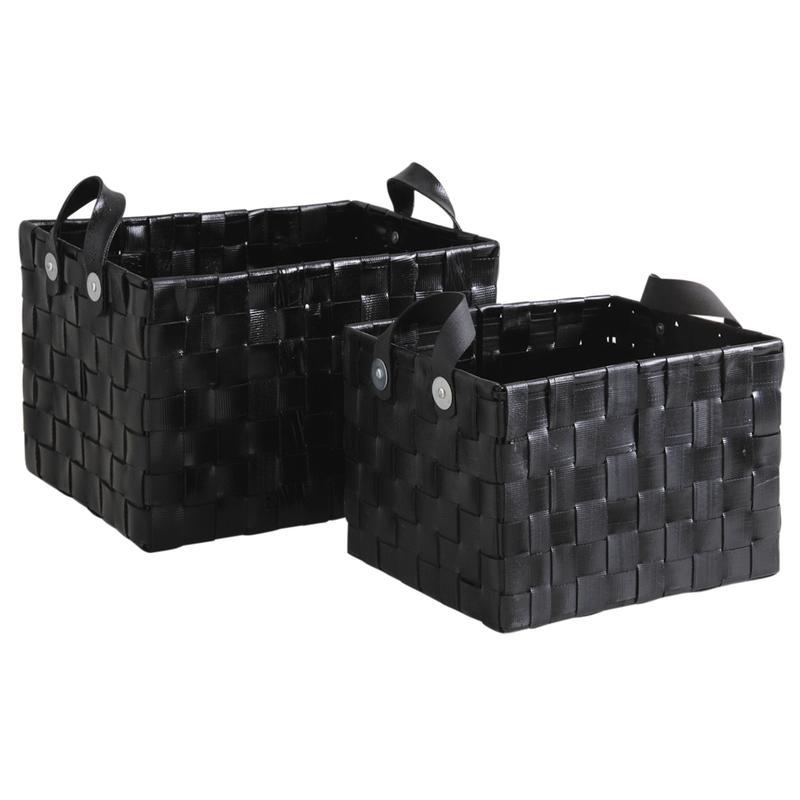 corbeilles de rangement en pneu recycl cra498s aubry gaspard. Black Bedroom Furniture Sets. Home Design Ideas