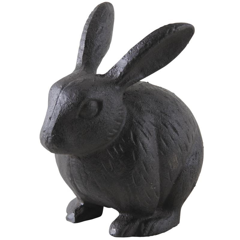Lapin en fonte dan2420 aubry gaspard for Decoration jardin lapin