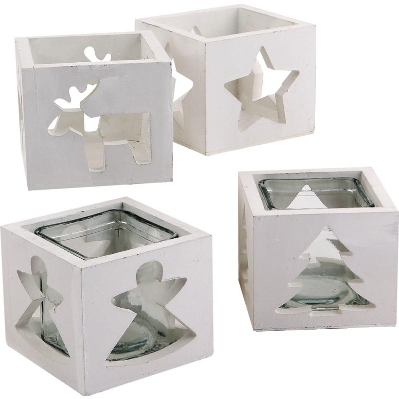 photophore en bois et verre dbo1521v aubry gaspard. Black Bedroom Furniture Sets. Home Design Ideas