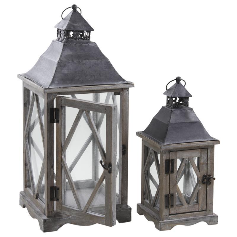 lanternes en bois dbo210sv aubry gaspard. Black Bedroom Furniture Sets. Home Design Ideas