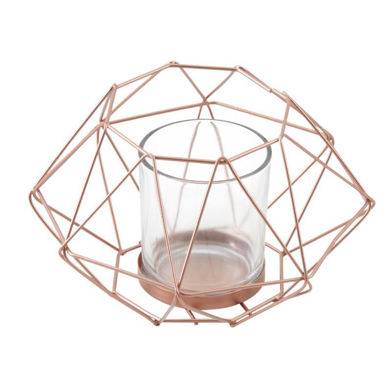 photophore en m tal cuivr et verre dbo2360v aubry gaspard. Black Bedroom Furniture Sets. Home Design Ideas