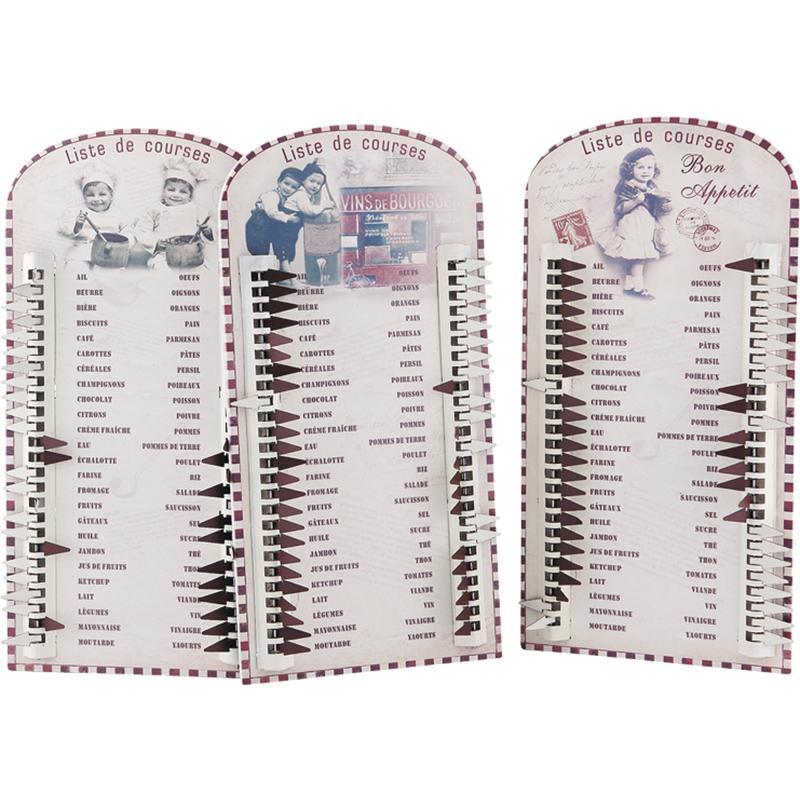 Cadre liste de courses dca1590 aubry gaspard - Liste de courses indispensable ...