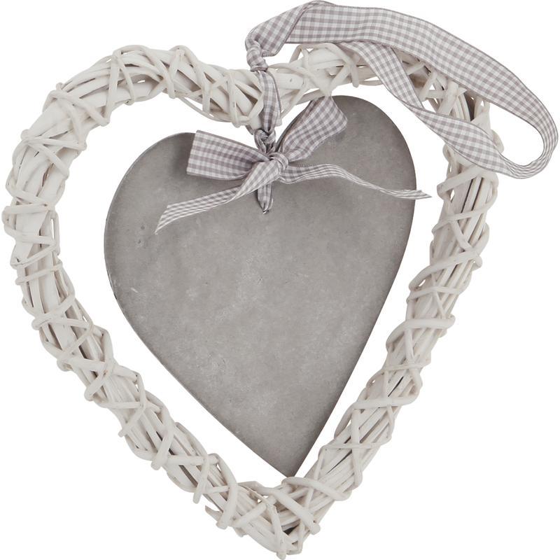 Coeur suspendre en osier dmo1160 aubry gaspard - Coeur en osier ...