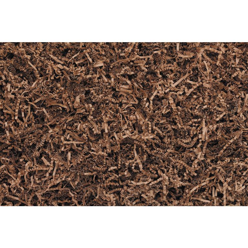 Frisure papier plissé marron 315