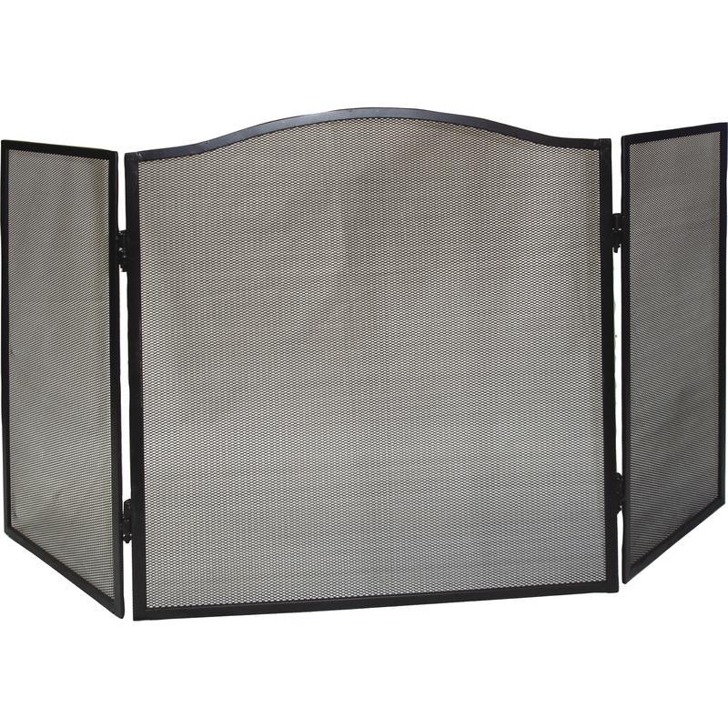 pare feu de chemin e en fer forg gch1100 aubry gaspard. Black Bedroom Furniture Sets. Home Design Ideas