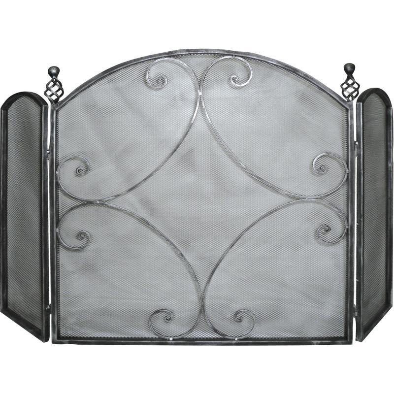 pare feu de chemin e en fer forg gch1260 aubry gaspard. Black Bedroom Furniture Sets. Home Design Ideas